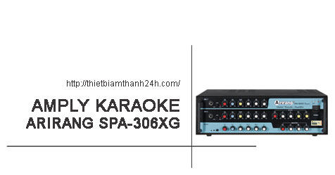 Amply Karaoke Arirang Spa 306xg Digital