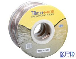 Dây loa Techmate TMSW-30 cao cấp (Speaker Cable 30m)